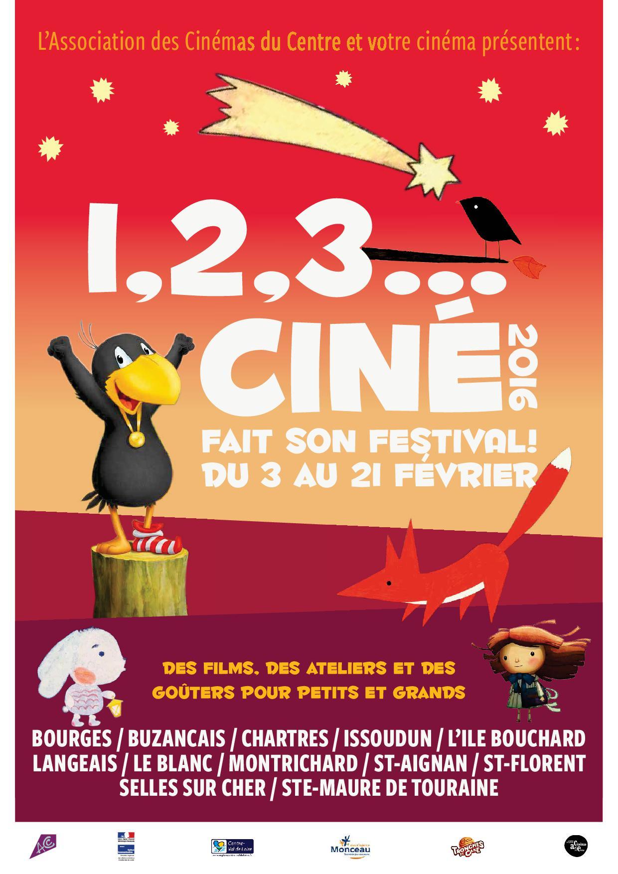 1, 2, 3… ciné fait son festival !