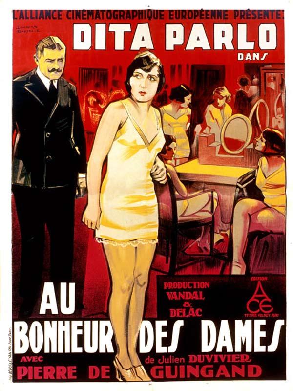 Ciné Concert/Au bonheur des dames
