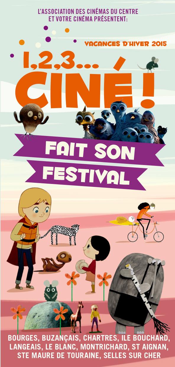 1, 2, 3… ciné ! fait son festival !