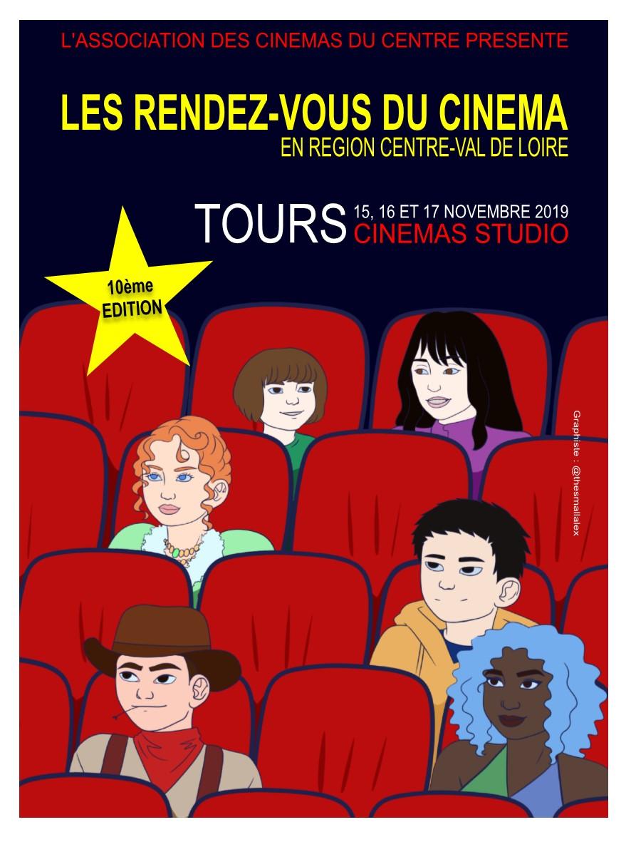 Rendez-vous du Cinéma en région Centre-Val de Loire